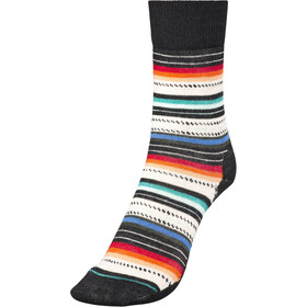 Smartwool Margarita Sokken Dames, black/multi stripe